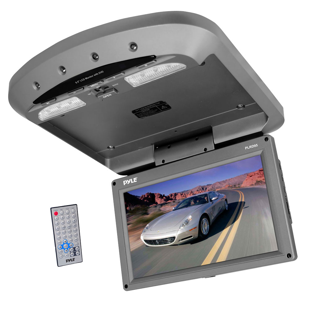 Pyle Plrd95 On The Road Overhead Monitors Roof Mount