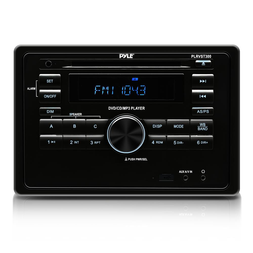 Pyle - PLRVST300 - On the Road - Headunits - Stereo Receivers