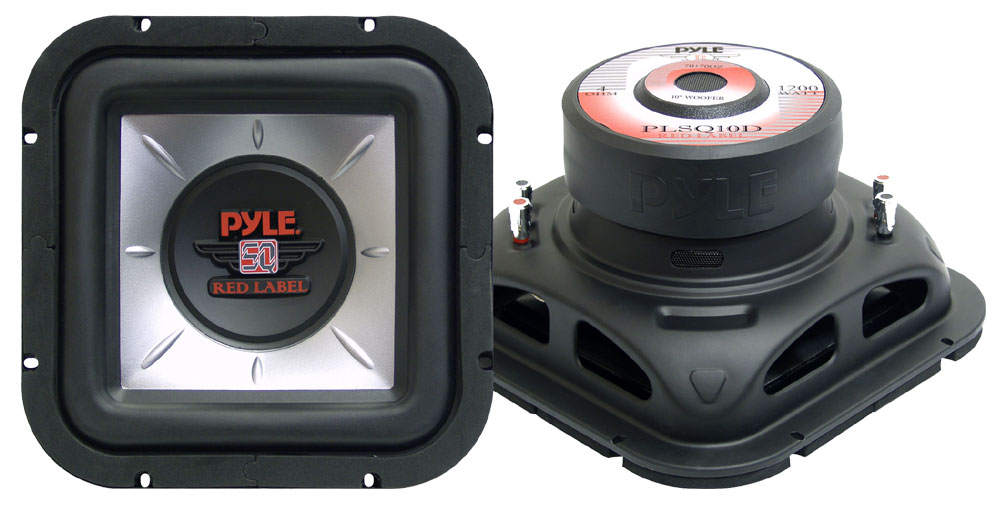 pyle plsq10d marine and waterproof vehicle subwoofers on the rh pyleaudio com Are Pyle Subwoofers Good Pyle Home Subwoofer