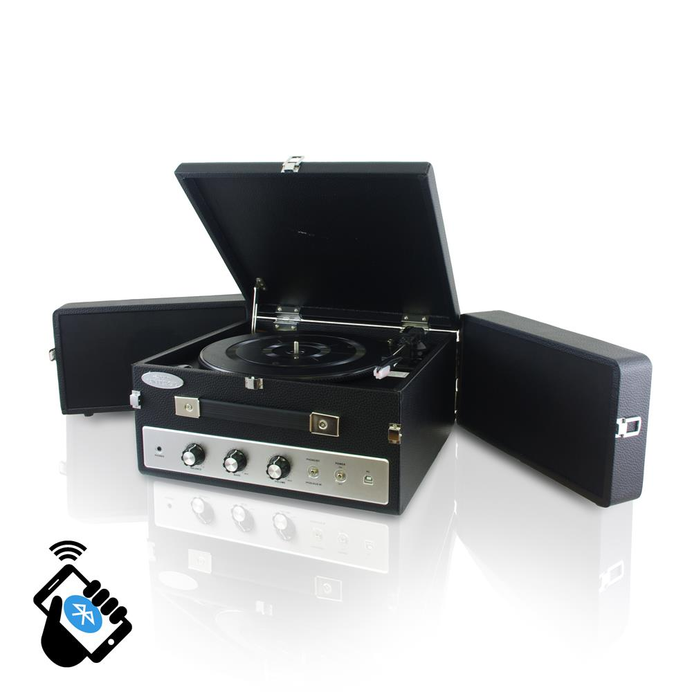 pylehome pltt82btbk home and office turntables phonographs musical instruments. Black Bedroom Furniture Sets. Home Design Ideas