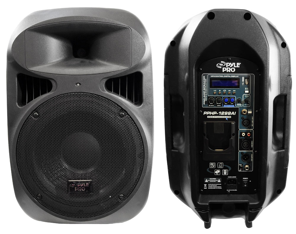 Pylepro pphp1299ai home and office pa loudspeakers for Woofer speaker system