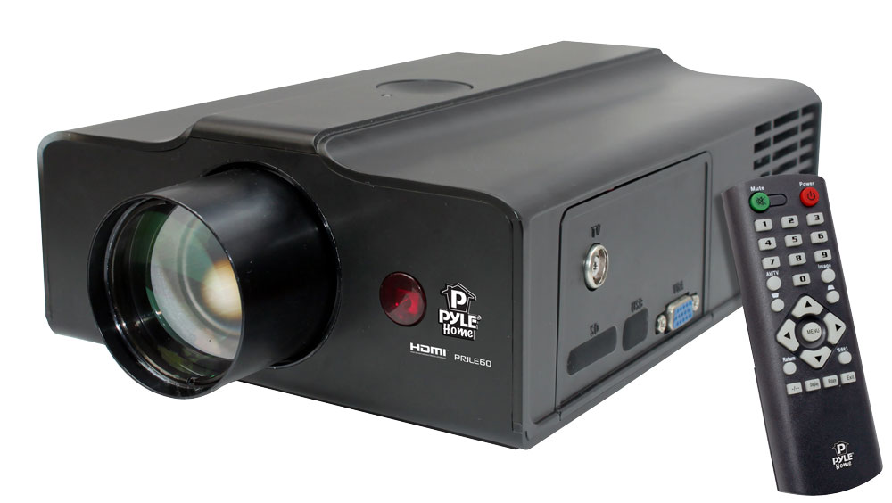 Pyle prjle60 home and office projectors for Best portable projector for movies