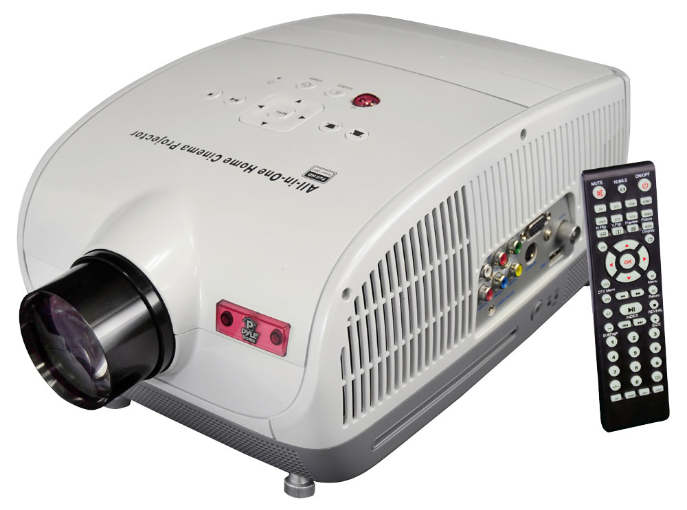 Pyle Prjsd188 Home And Office Projectors High Definition Theater Multimedia