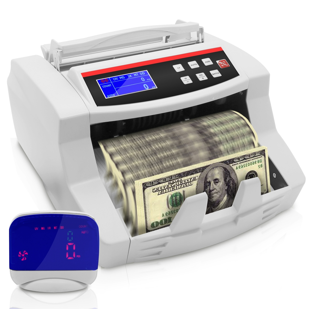 how to clean cash counting machine