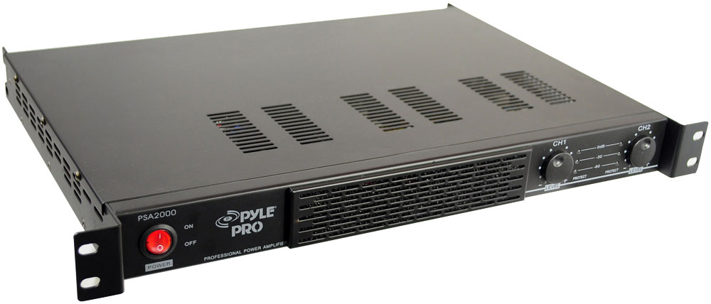 Pyle Psa2000 Sound And Recording Amplifiers Receivers 2000 Watt Power Stereo