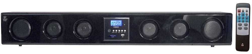 Pyle Psbv320bt 200 Watt Bluetooth Soundbar W Fm Radio Wireless Remote