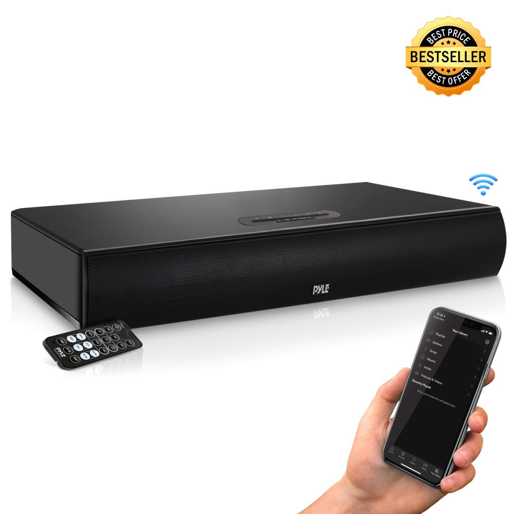 Pylehome Psbv600bt Home And Office Soundbars Home