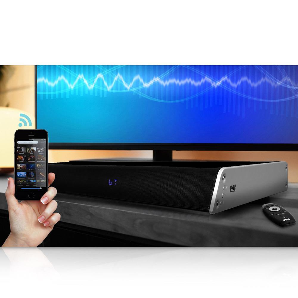 bluetooth hd tabletop tv sound base soundbar digital. Black Bedroom Furniture Sets. Home Design Ideas