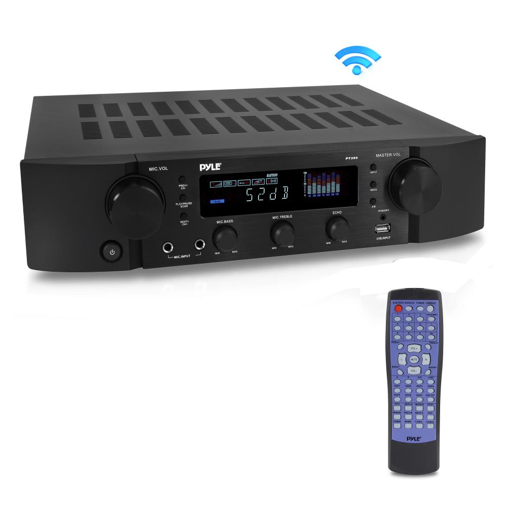 Pyle - Pt395 - Home And Office - Amplifiers
