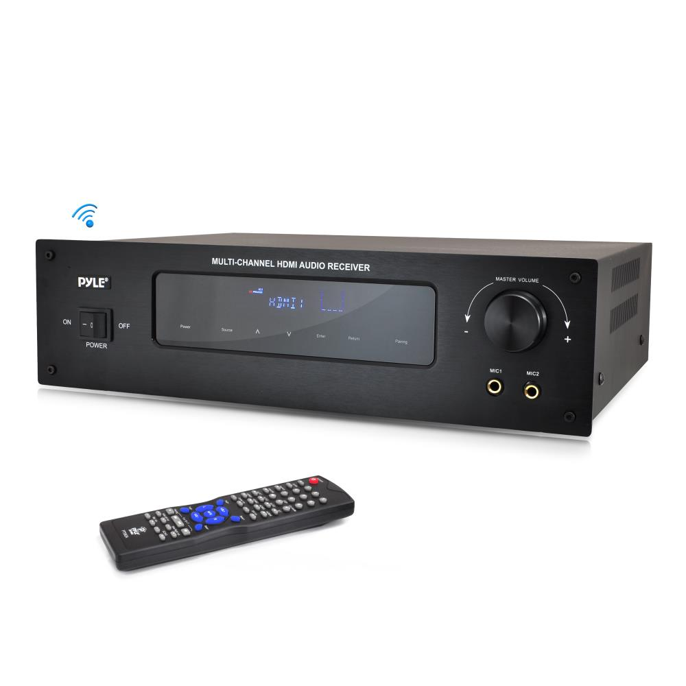 2 channel receiver with subwoofer output