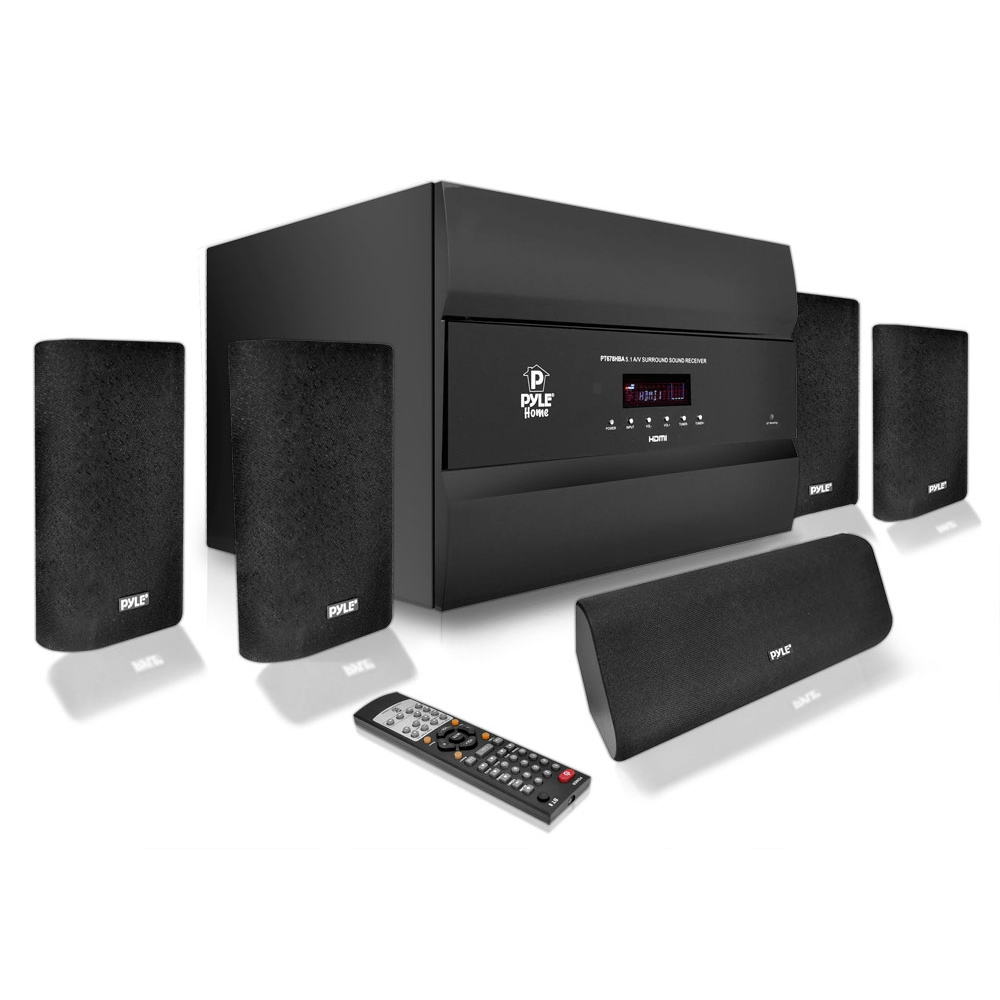 Pylehome pt678hba home and office amplifiers receivers sound and re - Home cinema bluetooth ...