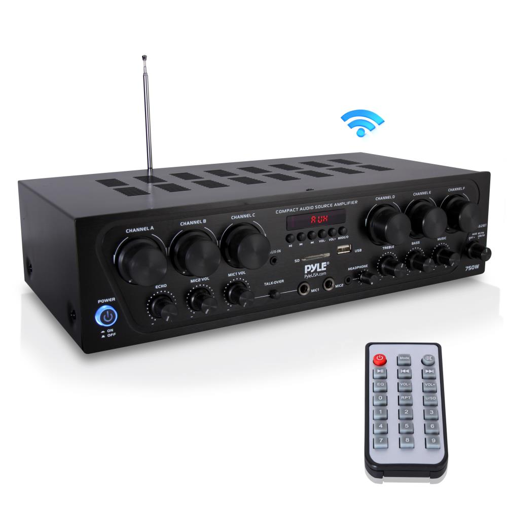 pyle pta62bt home and office amplifiers receivers sound rh pyleaudio com Home Theater Subwoofer Amp audiosource amp 110 manual