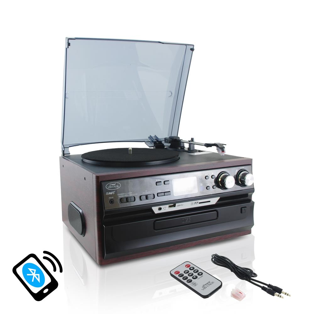 Pylehome Pttcds72ubt Home And Office Turntables