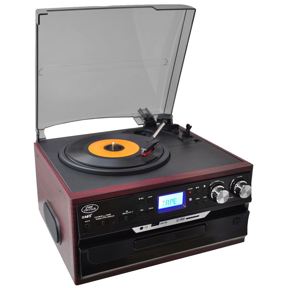 Pylehome Pttcds7u Home And Office Turntables