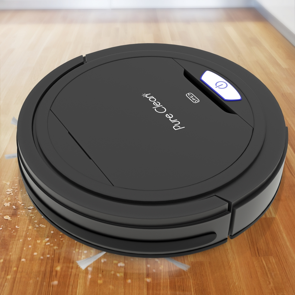 Pure Clean Pucrc26b Home And Office Robot Vacuum