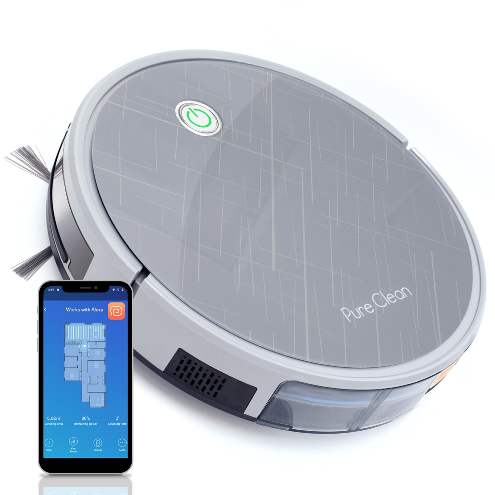 Pure Clean Pucrc660 Home And Office Robot Vacuum