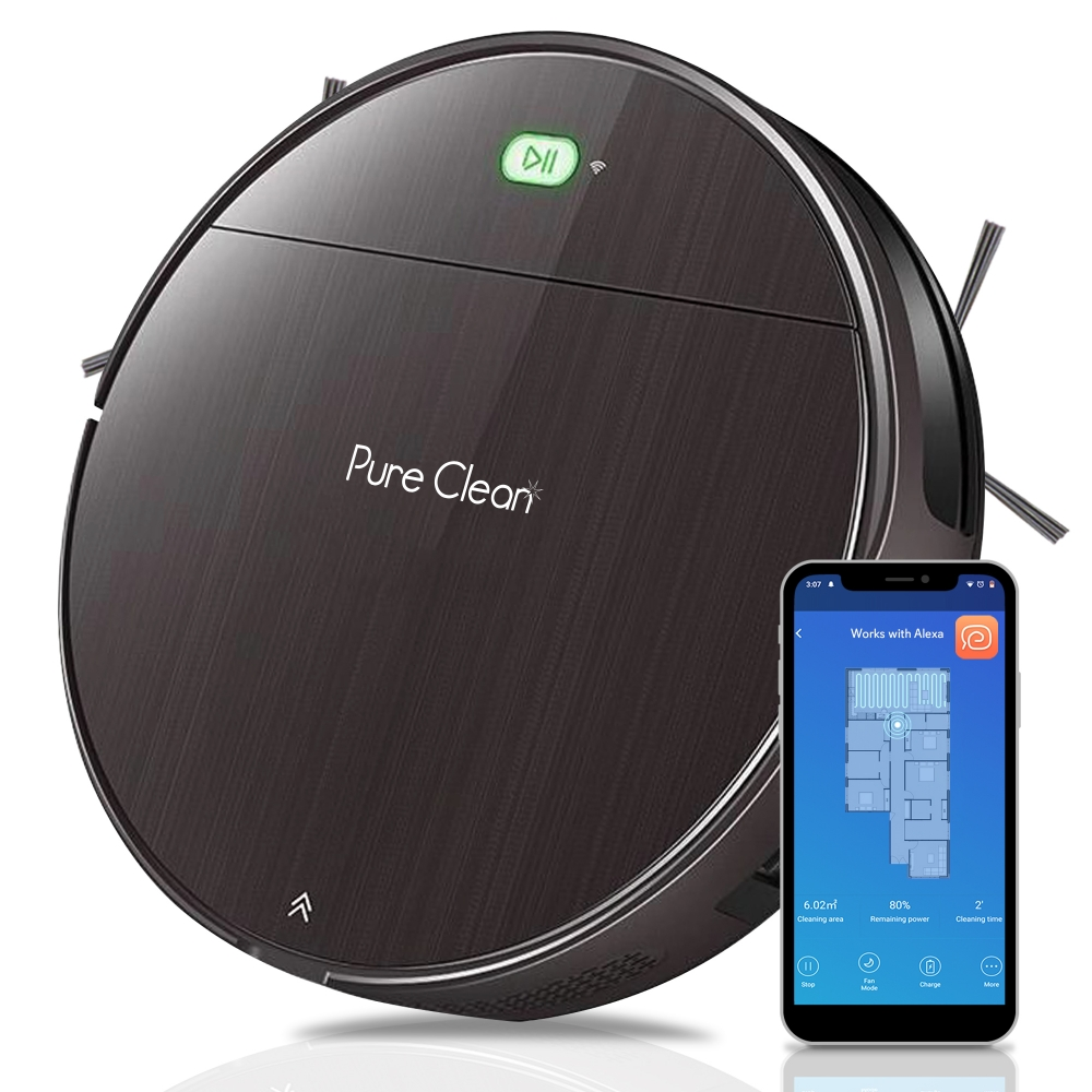 Pure Clean Pucrc850 Home And Office Robot Vacuum