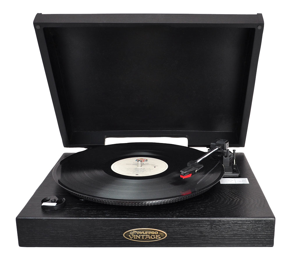 Pyle Pvntt1b Home And Office Turntables