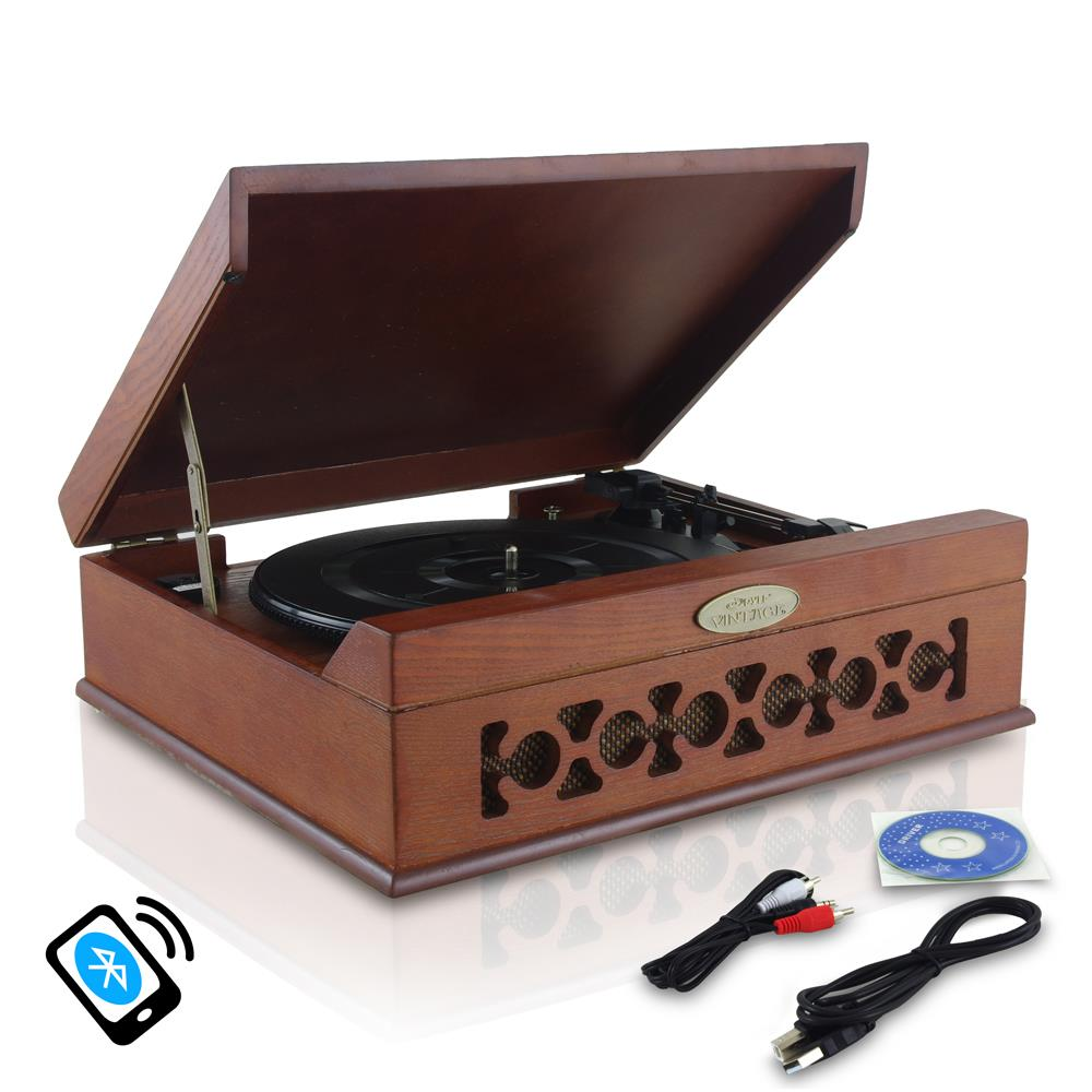 Pylehome Pvntt6umrbt Home And Office Turntables