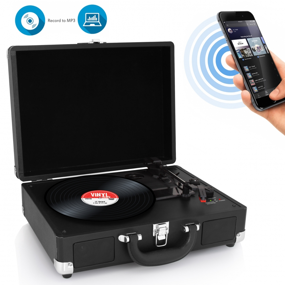 Pylehome Pvttbt6bk Home And Office Turntables