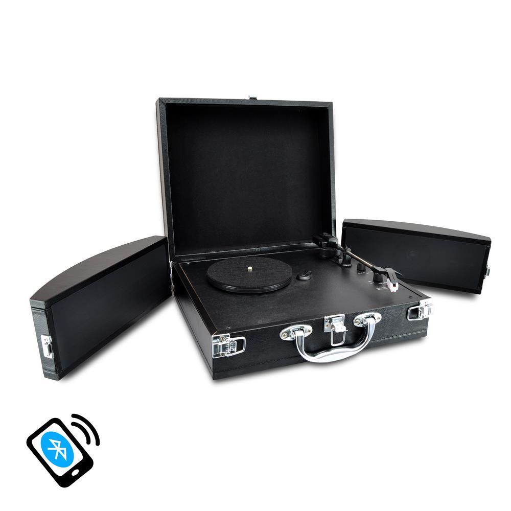Pylehome Pvttbt8bk Musical Instruments Turntables