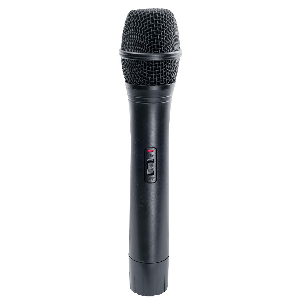 new pylepro pwma100 rechargeable portable pa system with wireless mic ebay. Black Bedroom Furniture Sets. Home Design Ideas