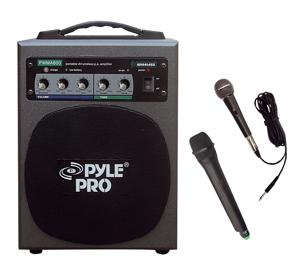 Pyle Pwma600 Sound And Recording Pa Loudspeakers Cabinet Speakers 100 Watt