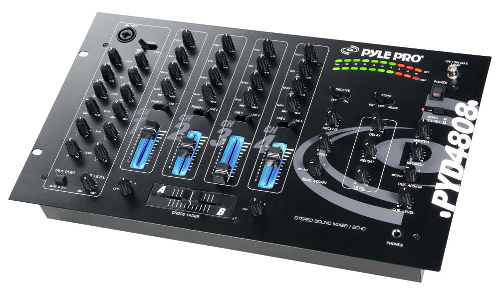 Pylepro Pyd4808 Sound And Recording Mixers Dj