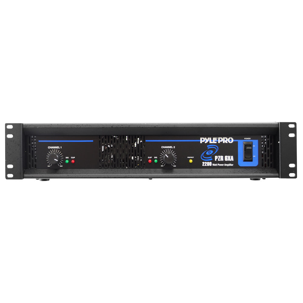 Pylepro Pzr6xa Sound And Recording Amplifiers