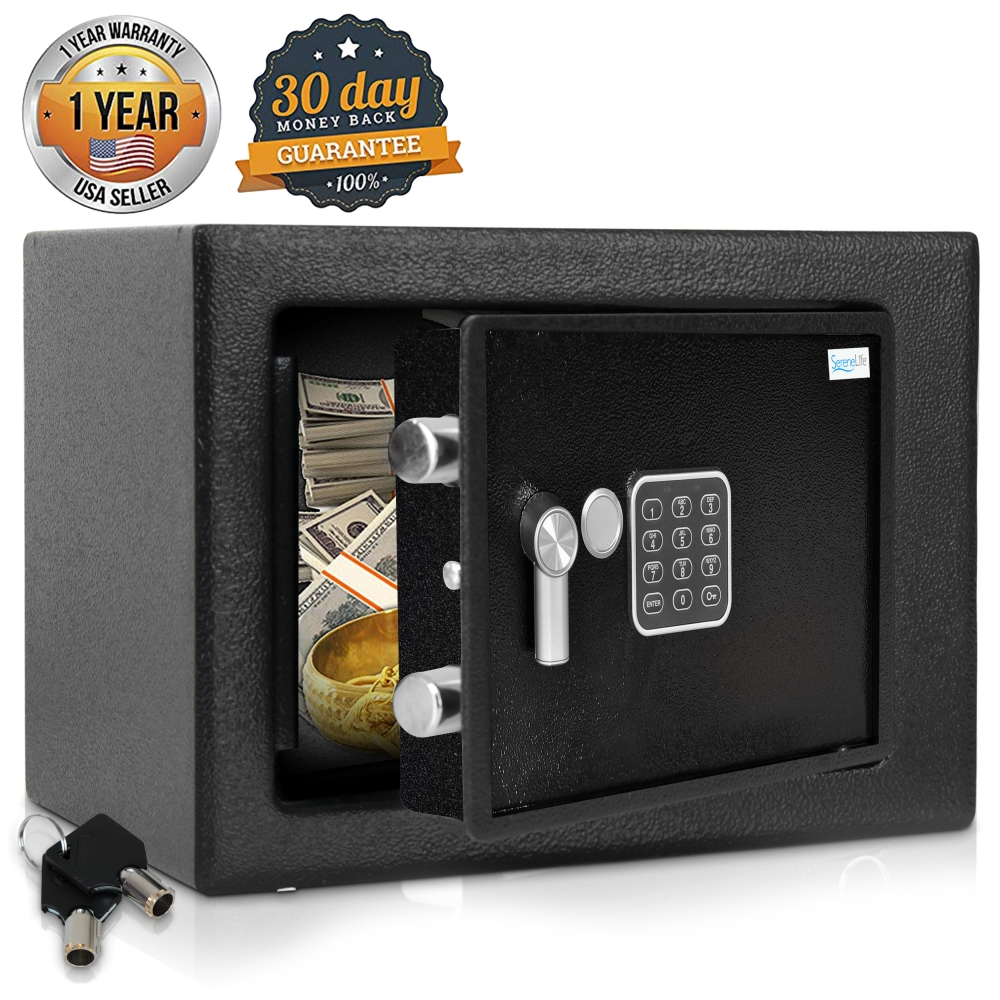 Serenelife Slsfe15 Home And Office Safe Boxes