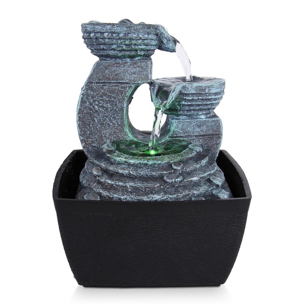 Serenelife Sltwf60led Home And Office Water Fountains