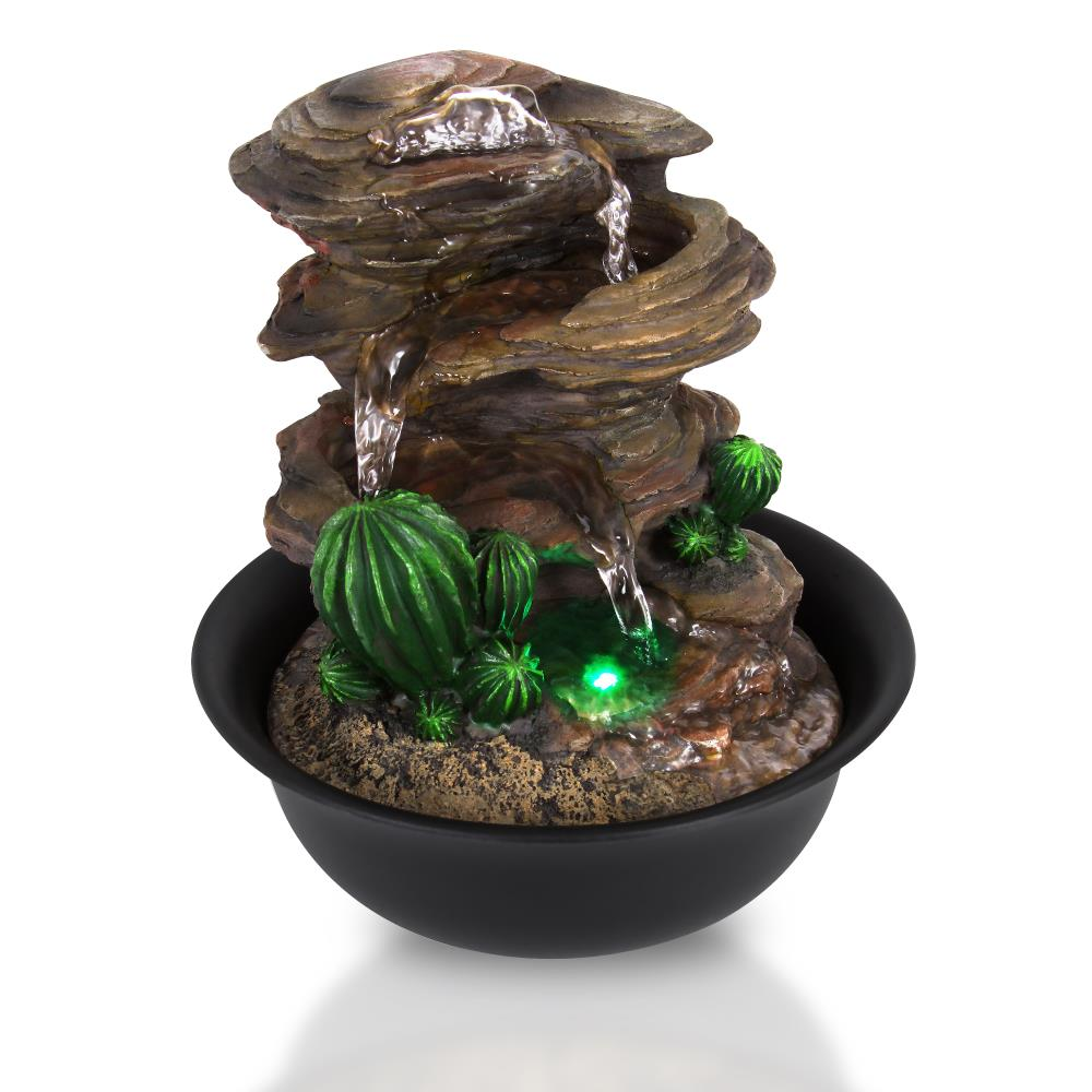 Pyle   SLTWF63LED , Home And Office , Water Fountains , Water Fountain    Relaxing Tabletop