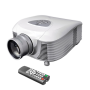 Pyle - PRJLE55 , Home Audio / Video , Home/Office Projectors , High-Definition LED Widescreen Projector with Up To 100-Inch Viewing Screen, Built-In Speakers & Supports 1080p