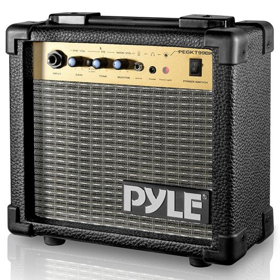 Pyle - ACCPEGKT99 , Musical Instruments , 10 Watts Portable Guitar Amplifier with 5'' Loudspeaker