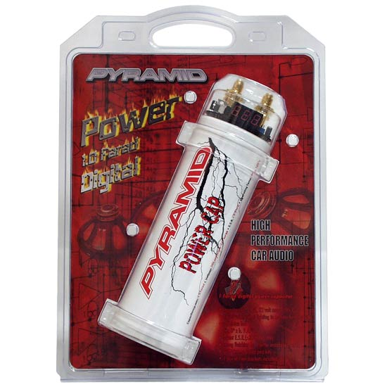 Power Capacitor Car Audio - Pyleusa On the Road Products