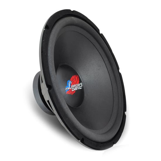Pyle - DCTOA12D , On the Road , Vehicle Subwoofers , Distinct Series Infinite Baffle Subwoofer - Free Air Dual Voice Coil DVC Woofer (12'' -inch, 300 Watt MAX)