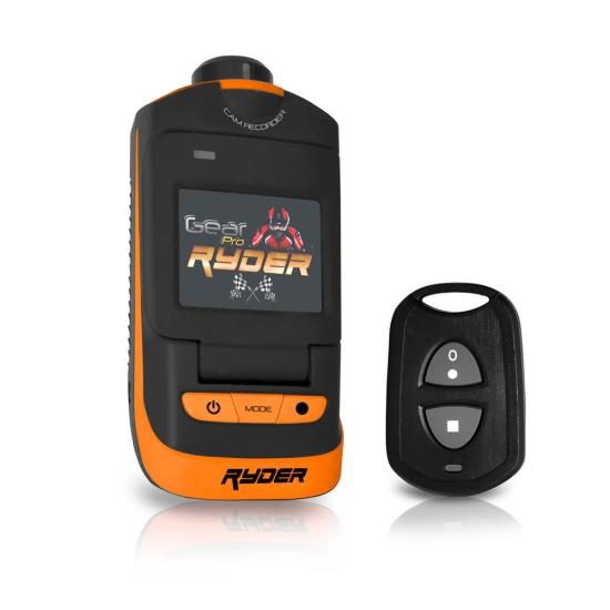 Pyle - GDV785OR , Sports and Outdoors , Cameras - Videocameras , Gear Pro Ryder Action Camera, Hi-Resolution Fully HD, 16 MegaPixel Images, 1080p Video, Fold-Out 1.5'' LCD Display