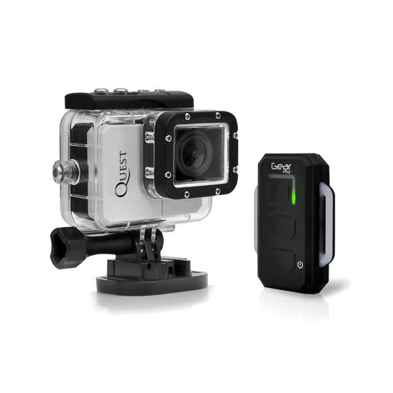 Pyle - GDV995SL , Gadgets and Handheld , Cameras - Videocameras , Gear Pro Quest Wi-Fi Action Cam, Full HD Hi-Resolution 1080p Video, 16 Mega Pixel Camera, 2.0'' LCD Display, Wireless Remote, Free Downloadable App, Waterproof Case