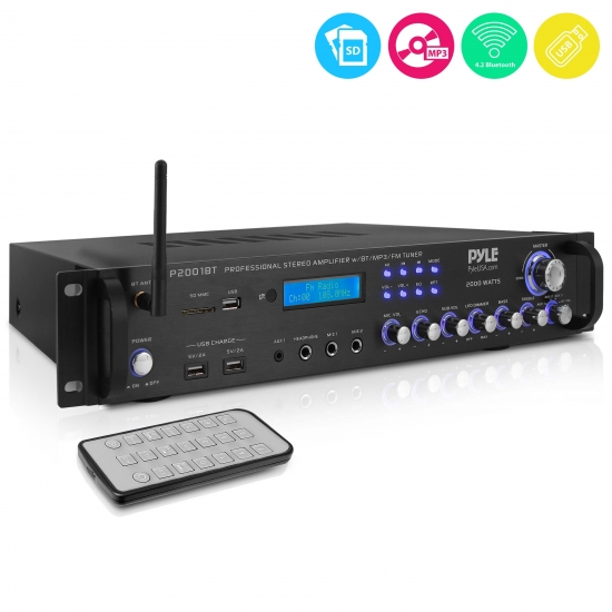 Pyle P2001bt Home And Office Amplifiers Receivers