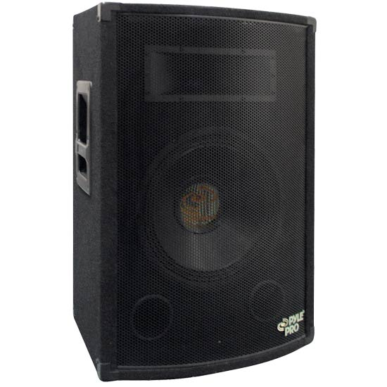 Pyle - PADH1079 , DJ Equipment , DJ Speakers , 500 Watt 10'' Two-Way Speaker Cabinet