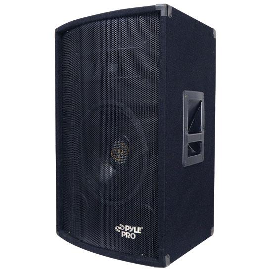 Pyle - PADH1279 , Sound and Recording , Studio Speakers - Stage Monitors , 600 Watt 12'' Two-Way Speaker Cabinet