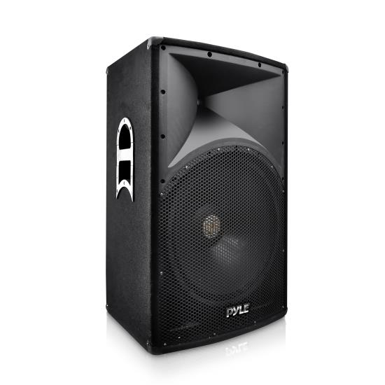 Pyle - PADH151 , Sound and Recording , Studio Speakers - Stage Monitors , 2-Way PA Stage Speaker, Cabinet Loudspeaker, 15'' Subwoofer, 800 Watt