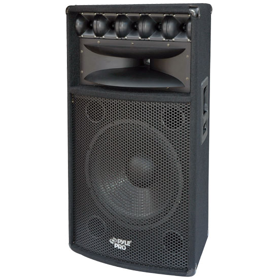 Pyle - PADH1569 , Sound and Recording , Studio Speakers - Stage Monitors , 1000 Heavy Duty 2 Way Pa Loud-speaker Cabinet