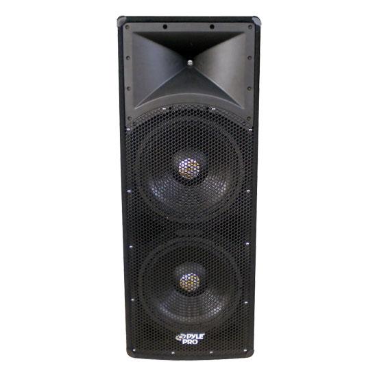 2000 Watt Dual 18'' 3 Way PA Speaker Cabinet - Studio Speakers