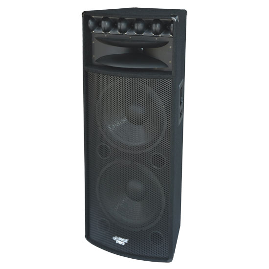 Pyle - PADH215 , Sound and Recording , Studio Stage Monitors - Box Cabinet Systems , 15'' 2000 Watts PA Speaker Cabinet