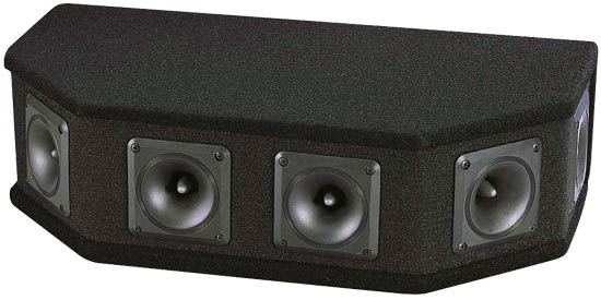 Pyle - PAHT6 , Sound and Recording , Studio Speakers - Stage Monitors , 6 Way DJ Tweeter System