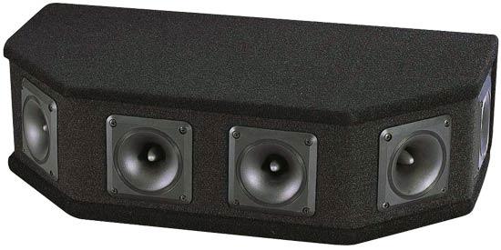 Pyle - PAHT6 , Sound and Recording , Studio Speakers - Stage Monitors , 6 Way DJ Tweeter System