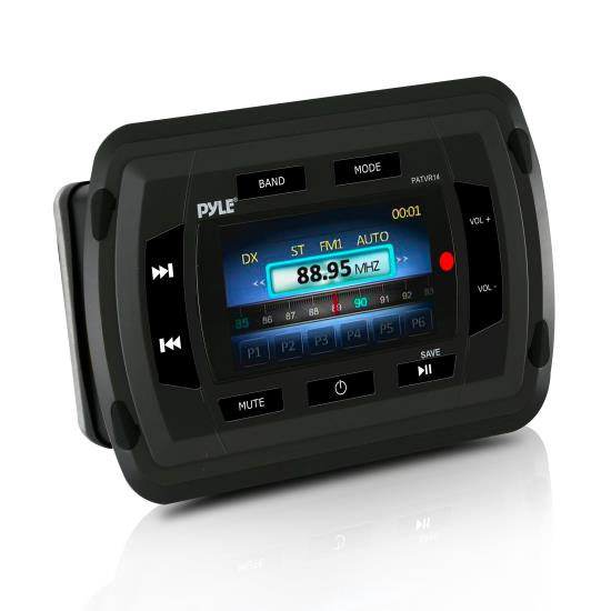 Pyle - PATVR14 - Marine and Waterproof - Headunits