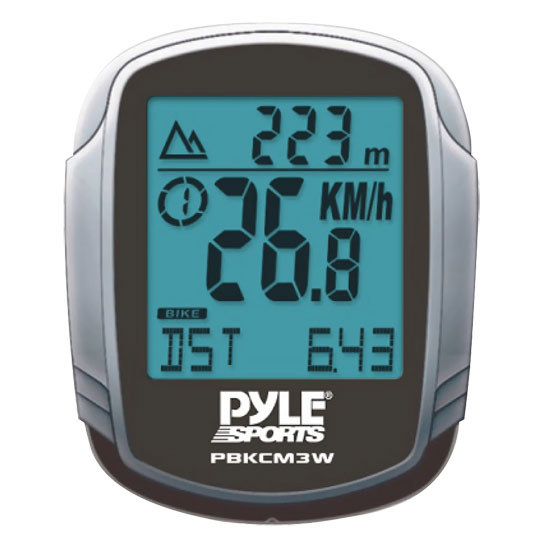 Pyle - PBKCM3W , Sports and Outdoors , Fitness and Training Sensors , Gadgets and Handheld , Fitness and Training Sensors , Wired Cycle Computer