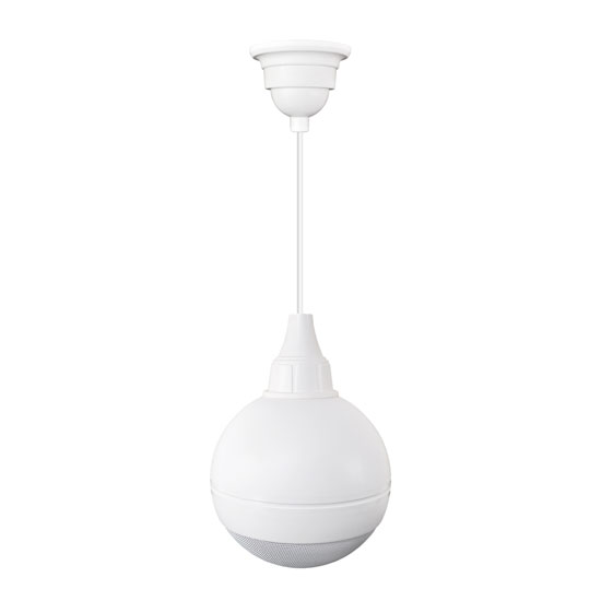 Pyle - PBS50W , Sound and Recording , Speakers , 100 Watts Ceiling Hanging Mount 5'' Ball Pendent Speaker(White Color)